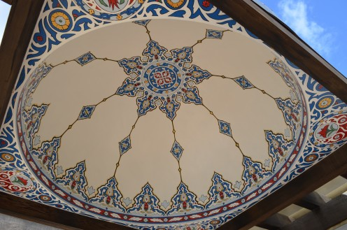 Photo 9 - This is right above the large, decorative wooden seat.  Very beautiful.