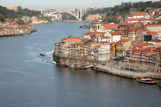 River Douro in Porto