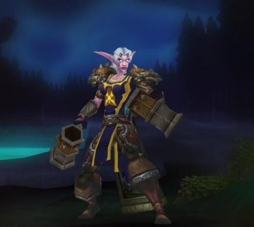 A Night Elf Rogue