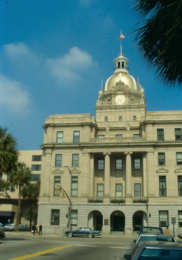 City Hall. Savannah.