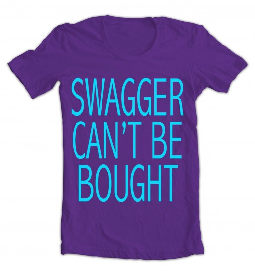 "What would a job be with no ""Swagger?"""