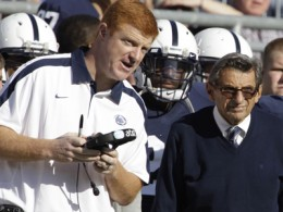 Pedophilia enablers Mike McQueary and Joe Paterno