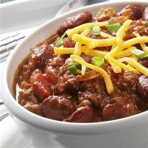 I love Chili in any form and shape!