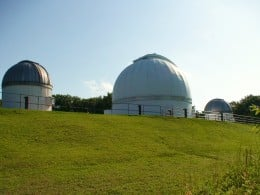 The George Observatory, in Southeast Texas, houses 3 research telescopes.