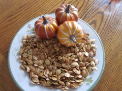 Pumpkin Seeds...The Perfect Fall Snack