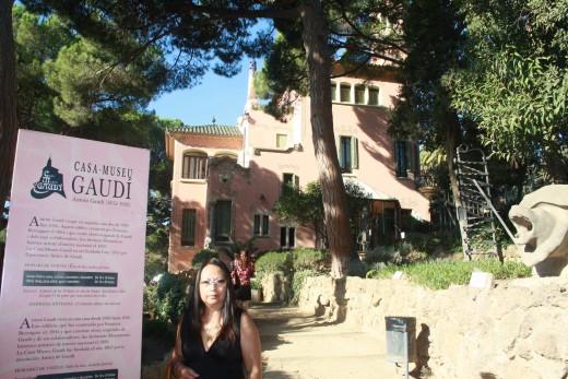 Antoni Gaudi's Park Guell, Barcelona, Spain