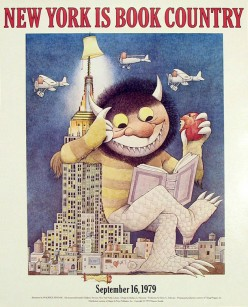 NY Book Art Posters: Charles Schulz to Maurice Sendak