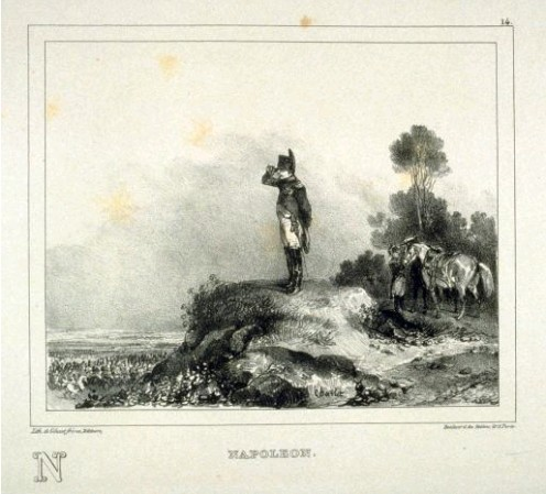Napoleon, by Nicholas-Toussaint Charlet (1792–1845)