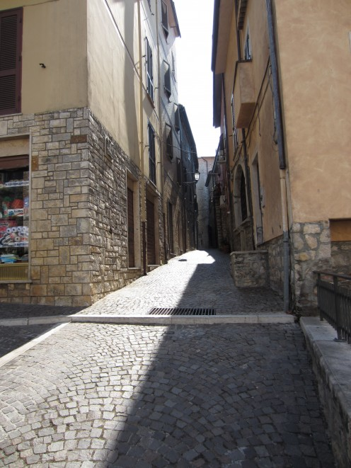 Album: The Streets of Amaseno, Italy (in front of the Church of St. Mary of the Assumption).