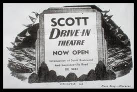 The drive-in theatre my parents took us to.