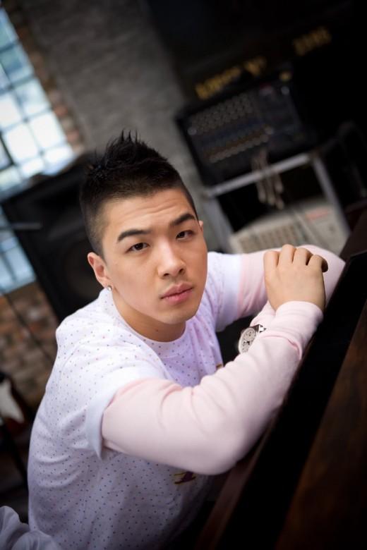 Taeyang mohawk hairstyle.