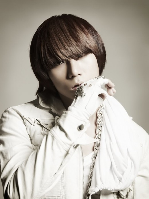 Jang HyunSeung hairstyle.