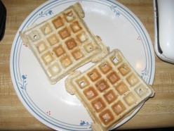 Healthy Make-Ahead Wheat Waffle Mix