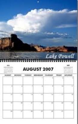 Wall Calendar--the most reliable calendar!