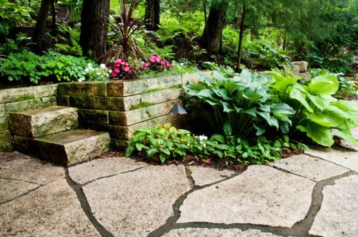Stunning Stone Patio Designs Backyard 520 x 345 · 89 kB · jpeg