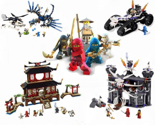 Lego ninjago building block toys for christmas 2011