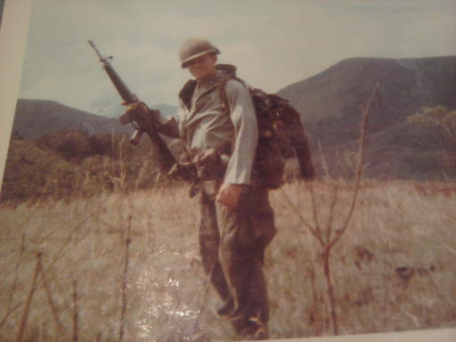 My cousin, LeRoy in Vietnam in the early 1970's.