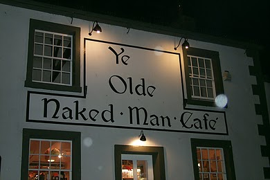 This pub and cafe is in Settle in North Yorkshire. I had opportunity to go to the town when visiting some friends for tea (that is dinner in American English).