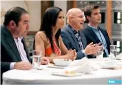 Our judges: Emeril, Padma, Tom and Hugh