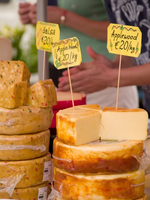 CHEESES by Leimaneagita DESCRIPTIONCheeses produce at farmers market