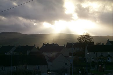 This and the picture before it were taken in Sildsen. It is a town outside of Keighley. A beautiful little town.