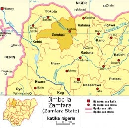 Zamfara Nigeria villagers inundated with lead dust poisoning from mining ore activities