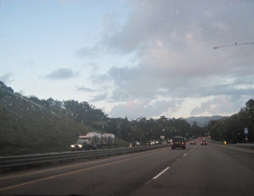 Taken from my car on I-101 between San Luis Obispo and Templeton,California