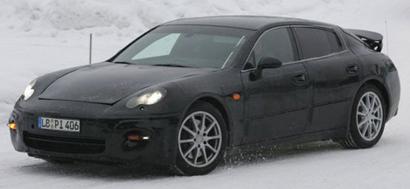 2009 Porsche Panamera Spy Shot