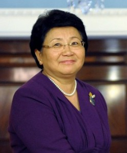 Roza Otunbayeva, President of Kyrgyzstan