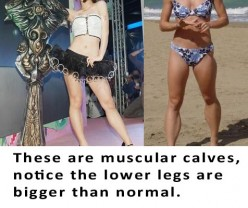 How to dress appropriately for those with very muscular calves / legs (guide for women)?