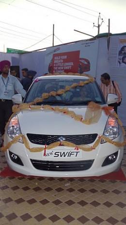 New Maruti Suzuki Swift Vdi inauguration