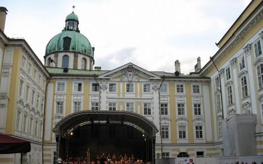 Hofburg Innsbruck Austria