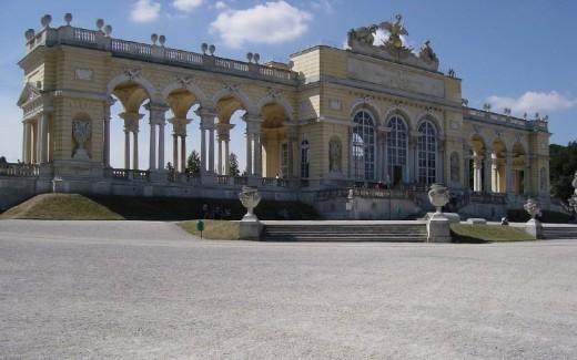 Gloriette - Schonbrunn Palace in Vienna, Austria