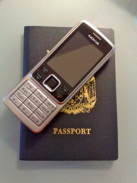 Have passport and phone ... will travel!!