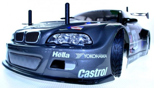 BMW M3 1/10th Nitro R/C Car from GS Racing