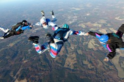 Skydiving is a unique experience that no one would forget!