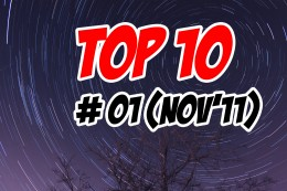 Top 10 Weekly (Issue #1 - November 2011)