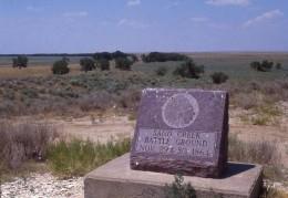 Sand creek massacre monument.