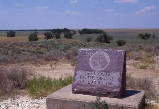 Sand creek massacre monument.