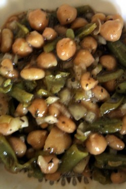 Low Fat High Protien - Four Bean Salad for vegans