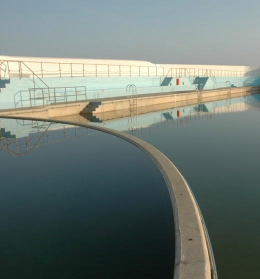 Penzance's waterfront lido