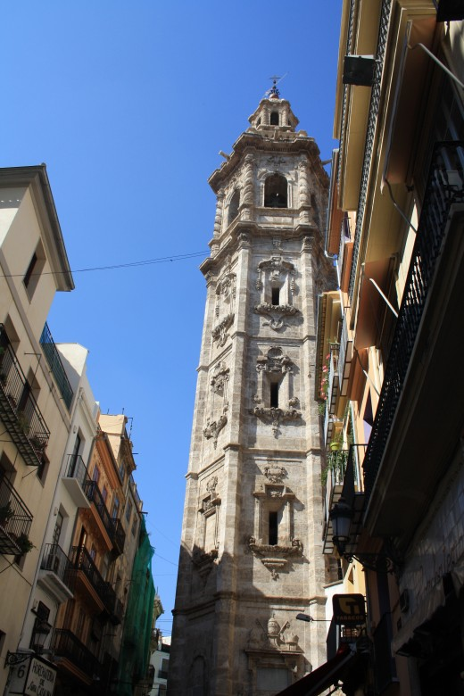 Santa Catalina Church Tower, Valencia, Spain