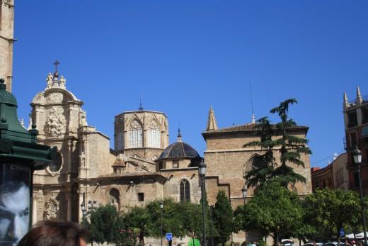 basilica de los desamparados valencia, spain