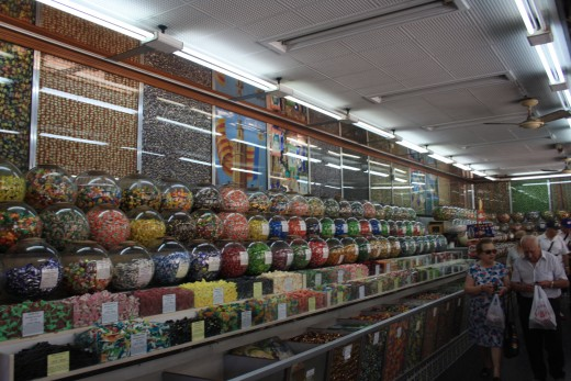 candy shop, Valencia, Spain