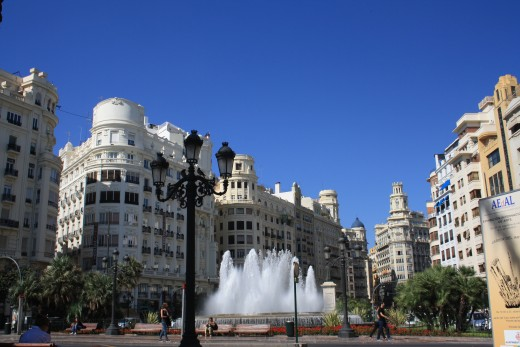 Valencia center, Spain