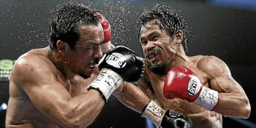 Pacquiao-Marquez trilogy as witnessed Nov. 13 in Catbalogan, Samar