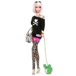 The Tokidoki Barbie was sold out but you can get hold of it on Amazon or eBay
