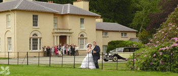 Wedding Party At Llanerchaeron
