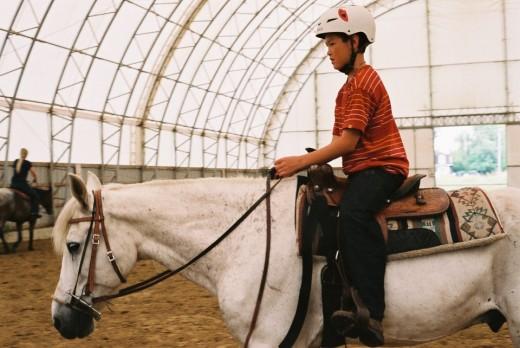 Horseback Rider. ©2010 Sarah Haworth.