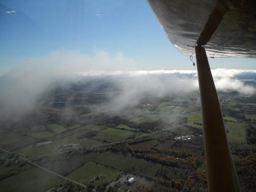 Under Glider Wings. ©2011 Sarah Haworth.